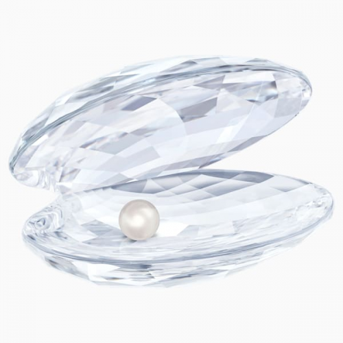 Shell with pearl, large