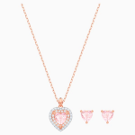 One Set, Multi-colored, Rose-gold tone plated