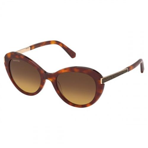 Swarovski Sunglasses, SK 0327 57F, Brown