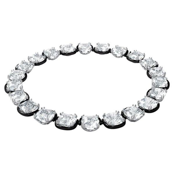 Harmonia choker, Cushion cut crystals, White
