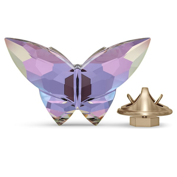 Jungle Beats Butterfly Magnet, Violet, Small