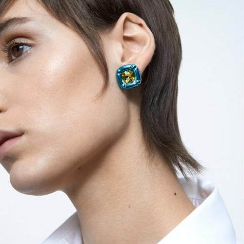 Dulcis Stud Earrings, Blue