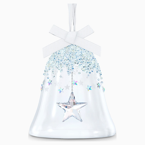 BELL ORNAMENT, STAR, LARGE