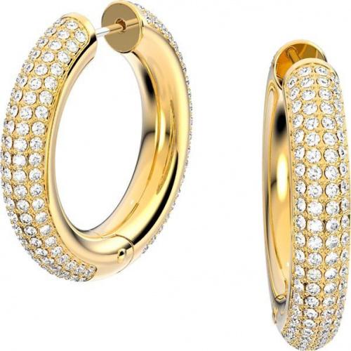 Dextera hoop earrings, White