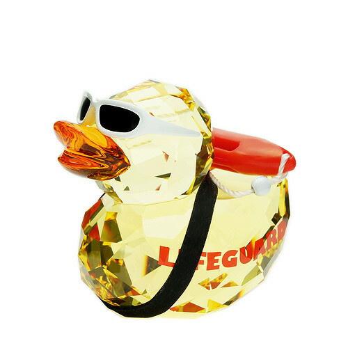Happy Duck Lifeguard Figurine