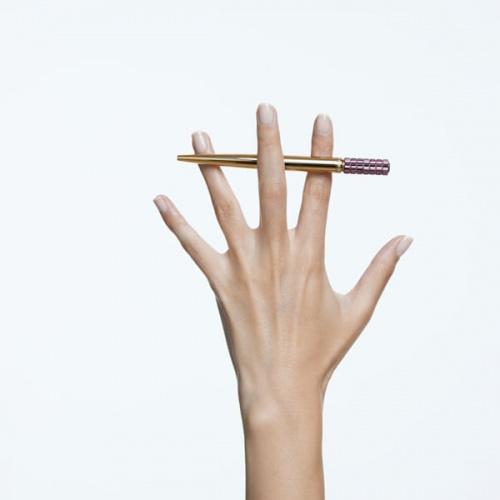 Lucent ballpoint pen, Purple, Gold-tone plated