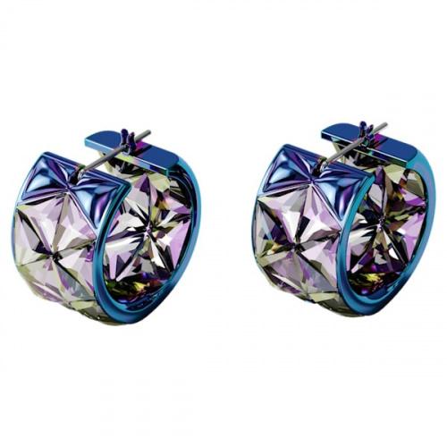 Curiosa hoop earrings, Blue