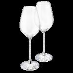 CRYSTALLINE WINE GLASSES (SET OF 2)
