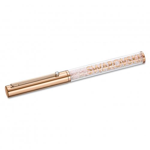 Crystalline Gloss Ballpoint Pen, Rose-gold tone plated