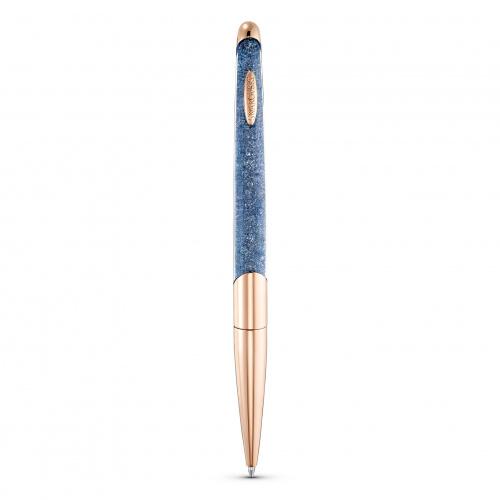 Crystalline Nova Anniversary Ballpoint Pen, Blue, Rose-gold tone plated