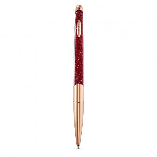 Crystalline Nova Ballpoint Pen, Red, Rose-gold tone plated