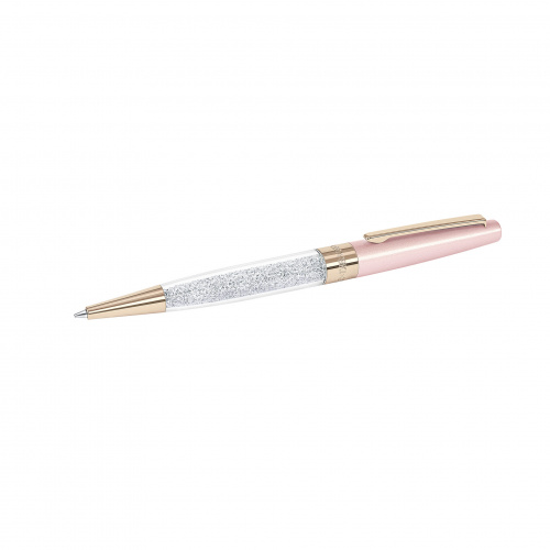 Crystalline Stardust Ballpoint Pen, Pink Rose Gold Plated