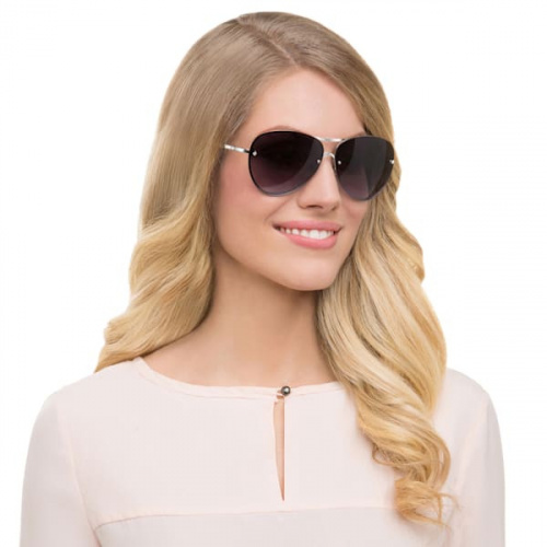 Fascinatione Sunglasses, SK0118 17B, Black