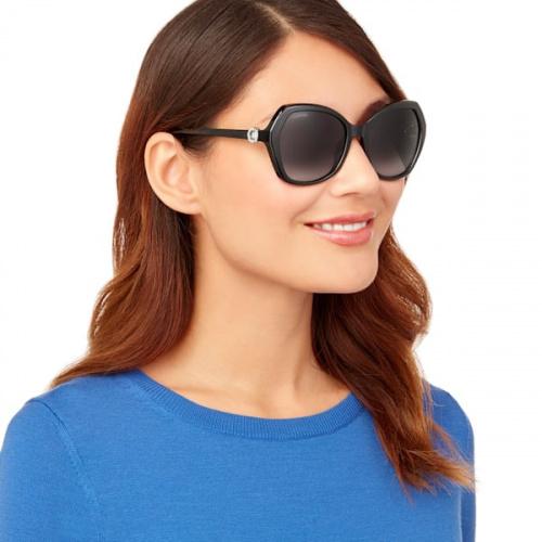 Swarovski Sunglasses, SK0165 - 01B, Black