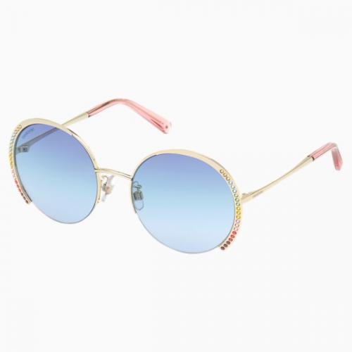 Swarovski Sunglasses, SK0280-H 32W, Blue