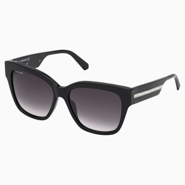Swarovski Sunglasses, SK0305 01B, Black