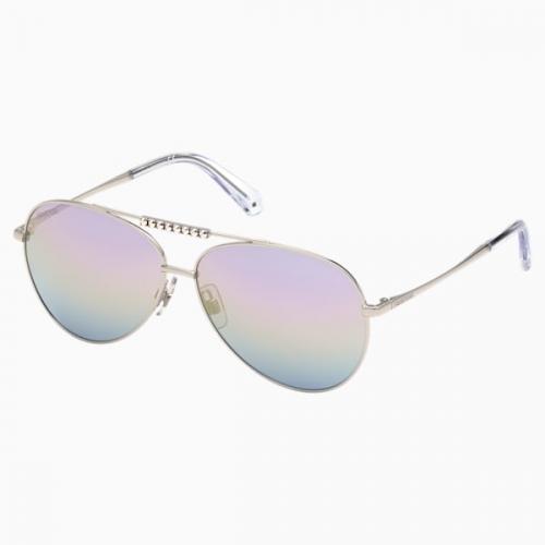 Swarovski Sunglasses, SK0308 16Z, Purple