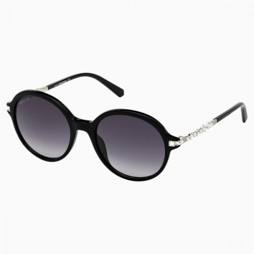 Swarovski Sunglasses, SK264 - 01B, Black