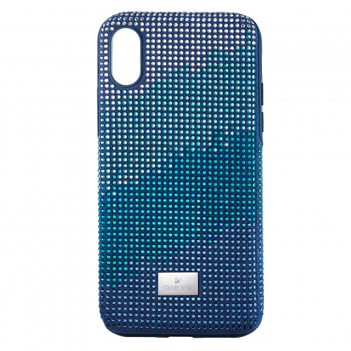 Crystalgram Smartphone Case with Bumper, iPhone® XS Max, Blue