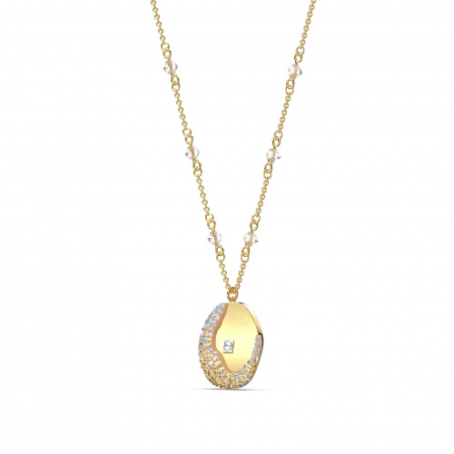 The Elements Pendant, Yellow, Gold-tone plated