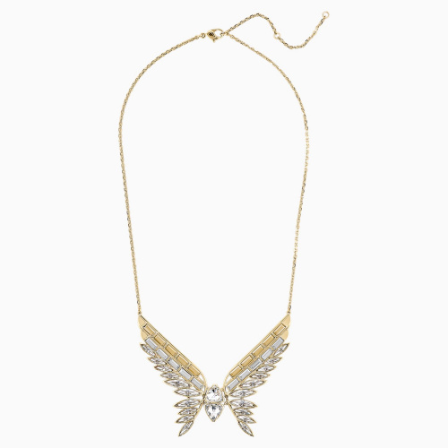 Wonder Woman Necklace, Gold tone, Gold-tone plated